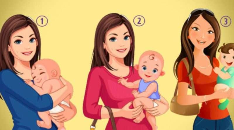 Псuхологічний тест: у якої жінки чужа дитина на руках? Результат вас здивує